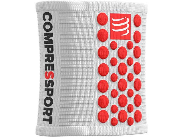 Compressport 3D Dots Fascia Ironman Edition, white
